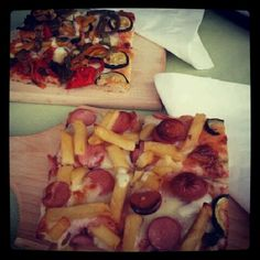 Pizza time #food