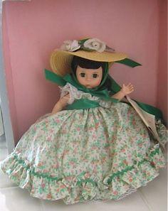 Old Madame Alexander Vintage Scarlett O'Hara Doll & Original Box