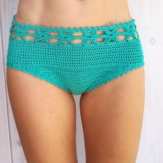 This listing is PDF CROCHET PATTERN for Coralia Flower hipster Bikini Bottom, Not finished item:) Skill level: EASY, INTERMEDIATE You should know the basic stiches: chain stitch, single crochet, slip stitch, double crochet. All the other sticthes used in the pattern are explained.