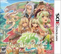 Rune Factory 4 3DS rom