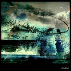 TRIPOLARVILLE Productions: Beneath Untamed Deadline Skies - Ras Steyn (Copyright 2017) African, Visionary, Surrealist, Surreal Art, Painting, Surrealism, Art, African Artists, South African Artists