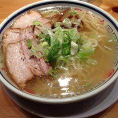 Ramen @ Tokyo Akihabara - Tanaka Sobaten | Tonkotsu - pork bone soup