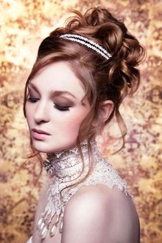 Dramatic Bridal Beauty Looks - The Hollywood Brides 'Runway Brides' Photoshoot is Glamorous (GALLERY)