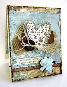 Vintage Valentine by Clarhan by clarhan - Cards and Paper Crafts at Splitcoaststampers