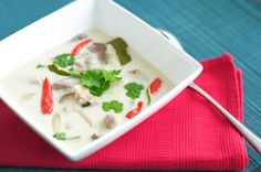Authentic Tom Kha Gai (Thai Coconut Chicken Soup)