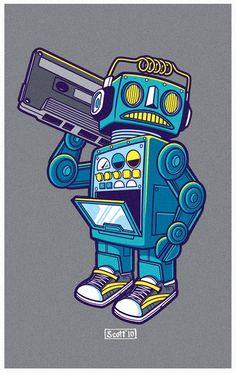 Robot Kicks by cronobreaker.deviantart.com on @deviantART