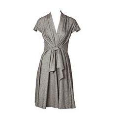 John Gallinao for Dior Herringbone Patttern Day Dress