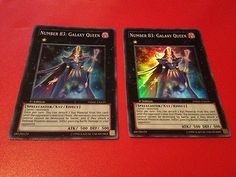 Yu-Gi-Oh-2x-Number-83-Galaxy-Queen-PHSW-EN039-Super-Rare-1st-Edition-M