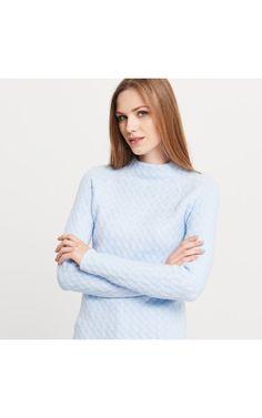 Sweter, NOWOŚCI, niebieski, RESERVED