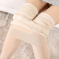 Nov18 Amazing Lady Winter Warm Legging Thickened Winter Super Elastic Fleece…