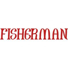 Stitch out this Fisherman Embroidery Font Set and add excitement to your projects! Includes all Uppercase & Lowercase letters in all of following sizes: 1″ 2″ & 3 Formats Available: PES, XX…