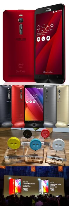 The Asus Zenfone 2 Android smartphone has a 13MP camera that, with the aid of software, can capture 52MP images. An F2.0 lens plus special low-light and background modes make it easy to capture decent photos in poor light. The optional (and cute) @asushq Lolliflash LED light pops into the headset jack. At $299 for a unit with 4GB RAM, an Intel processor and 64GB of storage ($199 with 2GB of RAM and 16GB storage), the unlocked, dual-SIM Zenfone 2 is quite affordable. CLICK THE PIC for more in...