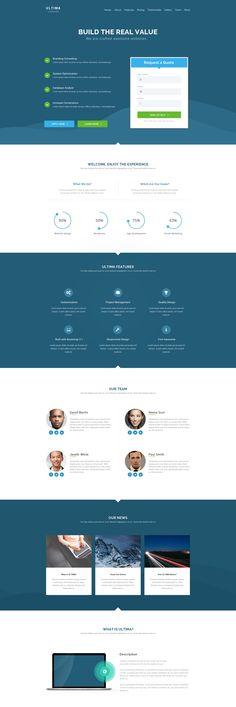 Simple Landing Page Design  by KonnstantinC - 96166