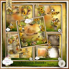 Autumn Sweet de Tif Scrap - bundle