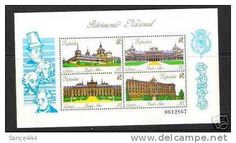 Spain 2617 SS mnh Royal Palaces