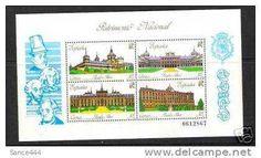 Spain 2617 SS mnh Royal Palaces