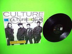"Culture Club – Move Away (Extended) 12"" Vinyl Record Boy George Dance Pop Synth #CultureClub #BoyGeorge #DancePop #1980s"