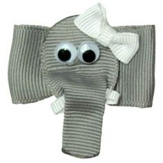 How fun is this little elephant bow?!