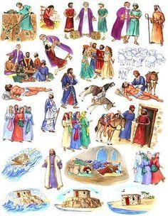 Resultado de imagem para Bible Felt Figures Flannel Board Stories: