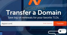 Transfer domain to namecheap in 2 steps Online Support, 2 Step, Internet, Names, How To Get, Simple