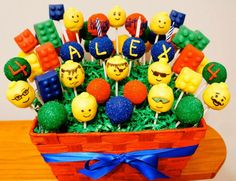 cupcakes tema lego - Pesquisa Google
