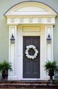 The 16 best Feng Shui Front Door Colours images on Pinterest | Front ...