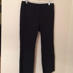 Black Stretch Dress Pants Size 6 Short Rafaella Pants Trousers
