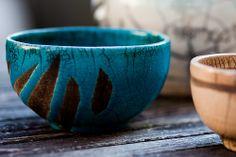 blue raku
