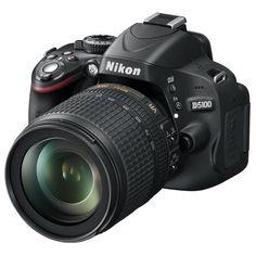 Купить Фотоаппарат зеркальный Nikon D5100 Kit 18-105VR Black в интернет-магазине М.Видео