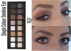 5 Looks With The Lorac Pro Palette - Single Colour Smokey eye