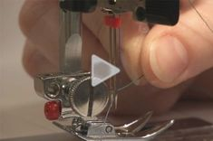 Video tutorial shows you how to insert & thread your twin needle for machine sewing.It's so easy with this video.
