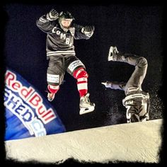 Crashed Ice - watch your head!