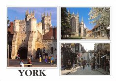 #retweet #postcard Postcard YORK 3 x Multiview by Newman Publications #Y http://stores.ebay.co.uk/stampsvintage
