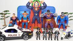 Superman family battle