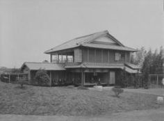 Japanese style painting artist Oukoku's former residence, 100 years ago