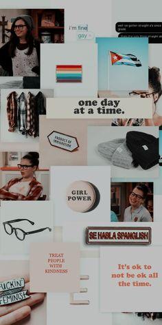one day at a time lockscreen by locksxcreenxs Netflix Series, Series Movies, Tv Series, Marcel Ruiz, Time Tumblr, Tv Show Outfits, Gay Aesthetic, Brooklyn Nine Nine, Fictional World