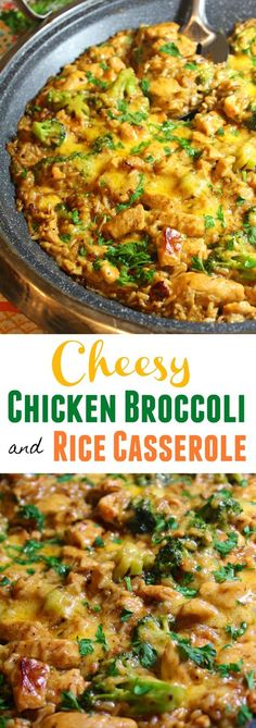 Cheesy Chicken Broccoli and Rice Casserole is on the menu tonight. Its cheesy, creamy and made in only ONE POT! Perfect for weeknight dinners. This recipe can be easily modified to suit any broccoli haters or if you prefer spicy food. One Pot dinners are a go-to for busy nights and make for easy cleanup.