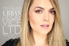 RED SMOKY EYE URBAN DECAY VICE LTD RELOADED - YouTube