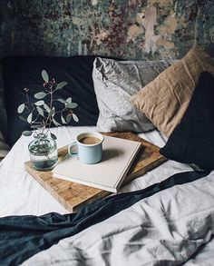 bed linen - coffee