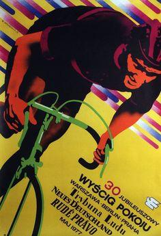 30th Peace Race, Polish Cyclist Poster