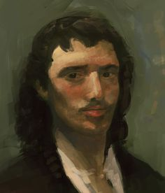 Carel Fabritius, self portrait (Detail) ~ Student of Rembrandt's, mid 1600s...    Dutch Baroque painter of portraits, genre, & narrative subjects was 1 of Rembrandt's most promising & significant pupils, greatly influenced 17th century stylistic development of the school of Delft. Sadly, Fabritius passed at age of 32 in an explosion at a gunpowder magazine in Delft, along with most of his work. He was rediscovered and celebrated by Theophile Thore-Burer (an esteemed 17th century French…
