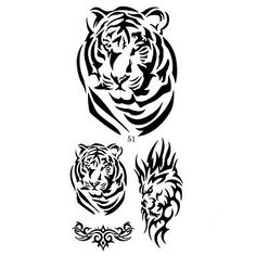 HJLWST 16 Designs Temporary Tattoo Sticker Animal Tiger Snake Pattern for Men and Women (Assorted Pattern) * Check out the image by visiting the link. (This is an affiliate link) Tiger Tattoo Small, Small Tattoos, Snake Patterns, Makeup Tattoos, Body Makeup, Temporary Tattoo, Tribal Tattoos, Body Art, Badge