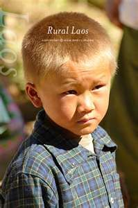 A Hmong child in Laos