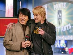 Pin for Later: The Ultimate TRL Time Machine  Owen Wilson joked around with Jackie Chan on a 2003 episode of TRL.