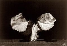 Loie Fuller [also Loïe Fuller] (January 15, 1862 – January 1, 1928) was a pioneer of both modern dance and theatrical lighting techniques.