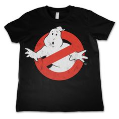 Ghostbusters Distressed Logo Kids T-Shirt  Hybris  Ghostbusters, Kids T-Shirt www.detoyboys.nl