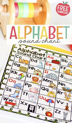 Free alphabet sound chart for kids! This sound chart is a perfect teacher resouce. It's great for teaching in the preschool classroom. Prechoolers will love learning their alphabet sounds through this fun chart! #alphabet #preschool #learning #freeprintables #printables #teaching #teacherresources Free Preschool, Preschool Classroom, Preschool Learning, Kindergarten Activities, Preschool Curriculum, Homeschool, Printable Activities For Kids, Preschool Printables, Alphabet Activities
