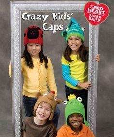 Crazy Kids' Caps