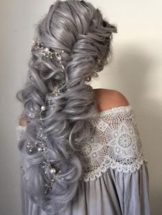 Wedding Hairstyle Inspiration Alisha Jared (alishajaredhairartistry is part of Chic Wedding Updo Hairstyles Which Will Make You Swoon Short - Wedding Hairstyles Best Wedding Hairstyles, Pretty Hairstyles, Braided Hairstyles, Winter Hairstyles, Braided Updo, Trending Hairstyles, Updo Hairstyle, Hairstyle Ideas, Hair Colors