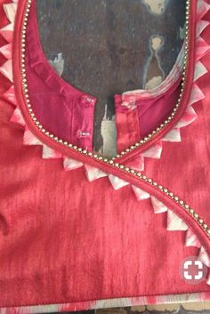 New Stylish & Trendy Kurti Neck Designs For Your Amazing Look - Kurti Blouse Chudi Neck Designs, Neck Designs For Suits, Blouse Back Neck Designs, Neckline Designs, Sleeve Designs, Indian Blouse Designs, Fancy Blouse Designs, Churidar Neck Designs, Kurta Neck Design